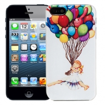 "Чехол для iPhone 5/5s ""Balloon girl"""