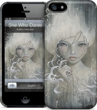 "����� ��� iPhone 5/5s Gelaskins ""She Who Dares"""