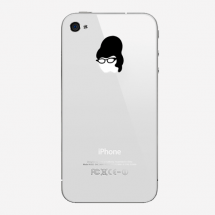 "Наклейка для iPhone 4/4S/5 ""Cat-eyed"""