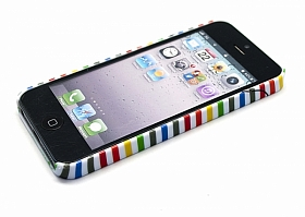 "Чехол для iPhone 5/5s Lacoste ""Thin stripes"""